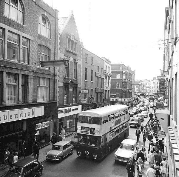 Old Dublin Photos - Old Dublin Town