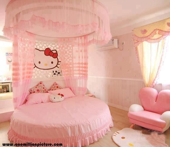 Hello kitty inspired room.