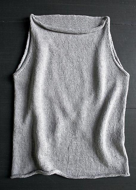 Ravelry: Tulip Tank Top pattern by Purl Soho | Knitting patterns ...