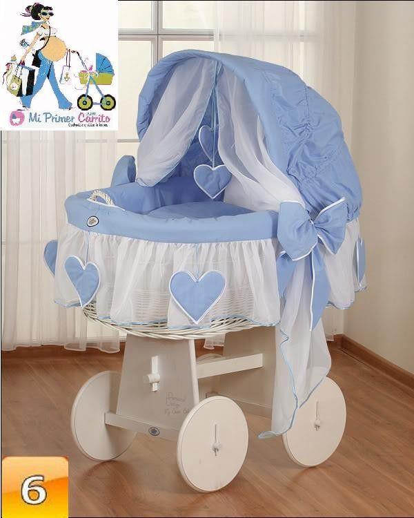Resultado de imagen para moises decorados en encajes y for Moises bebe ikea