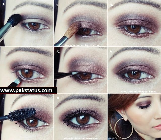 Bridal Eye Make-Up Tutorial in Urdu Step By Step Guideline. - PAK .