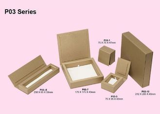 china folding kraft paper jewelry box jewelry cardboard boxes for pandent necklace bracelet packaging supplier