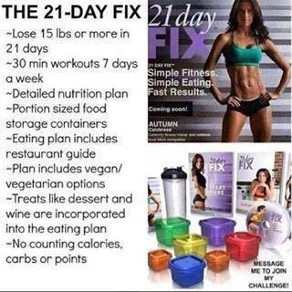 Good Morning Lovely Pinterest The 21 Day Fix Special With Free Shipping Ends Tonight Don T Miss Out On Getting Beach Body Challenge 21 Day Fix Lose 15 Pounds