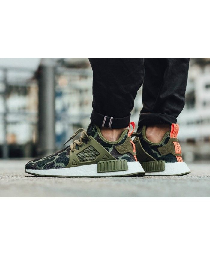 Chaussure Adidas NMD XR1 Duck Camo Pack Olive Cargo Ba7232