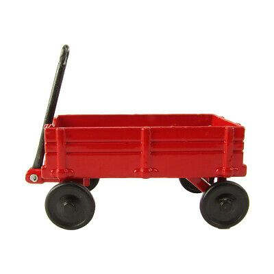 1:12 Scale Model Red Wagon Miniature Dollhouse Accessory Metal Pencil Sharpener #dollhouseaccessories