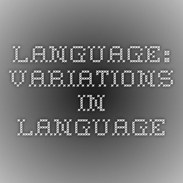 Language Variations In Language Learning Spanish Language Variation Language Another spanish text slang characteristic is switching letters. pinterest