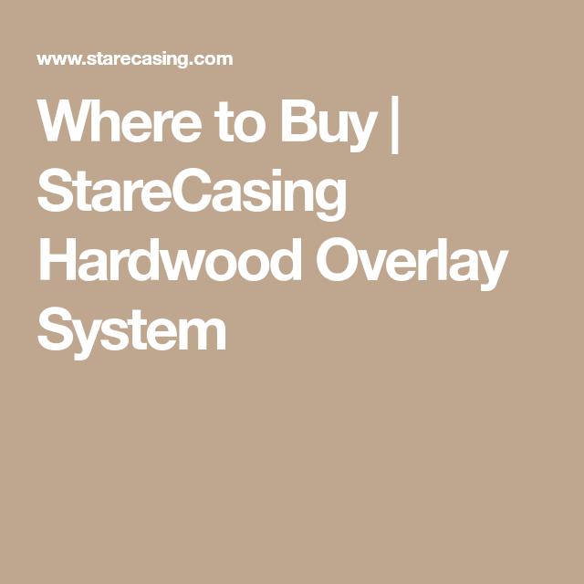 Best Where To Buy Starecasing Hardwood Overlay System 400 x 300