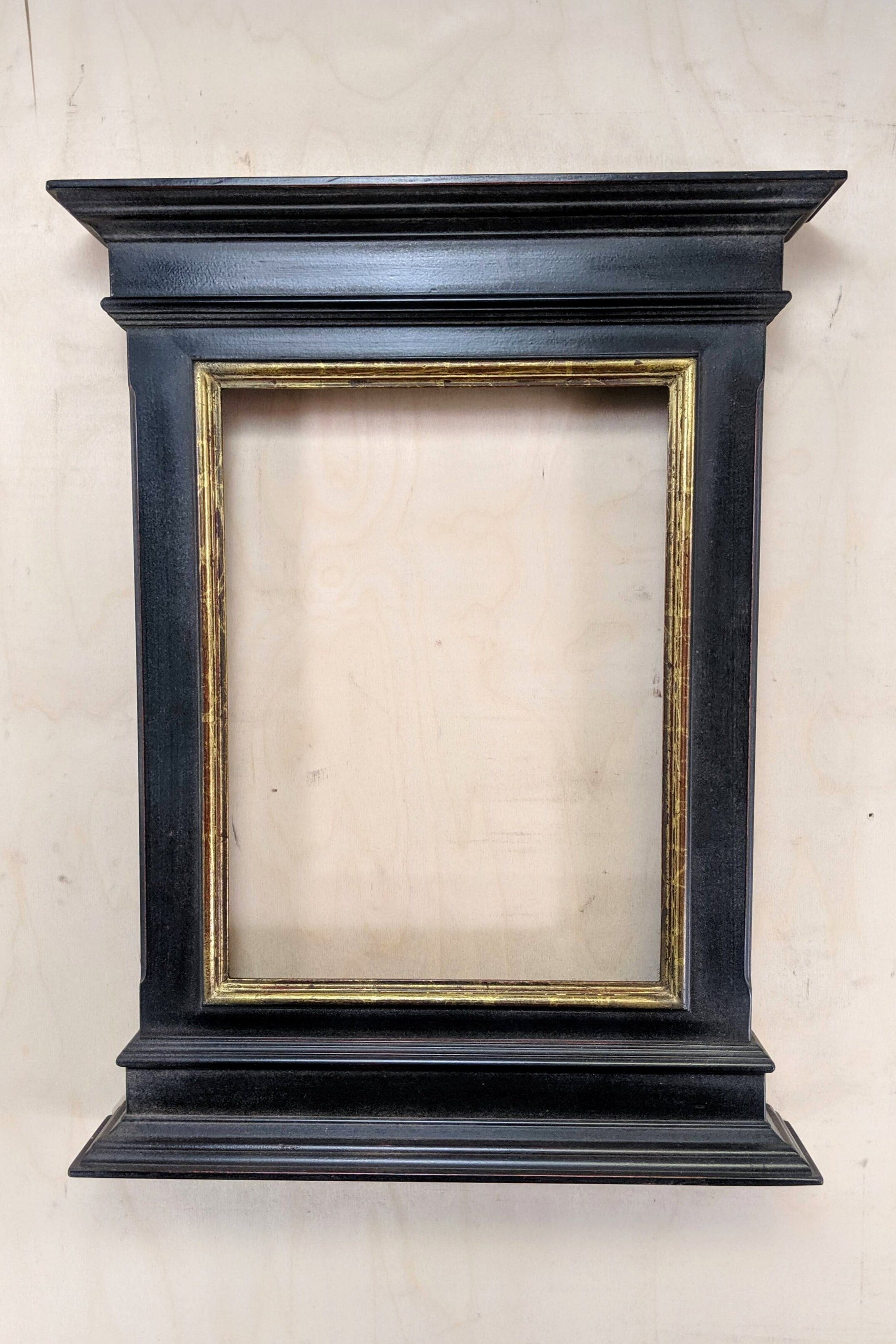 12x16 Tabernacle 22k Gold In Black In 2020 Tabernacle Frame Picture Frames