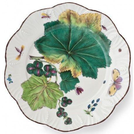 Alberto Pinto Foliage Dinner Plate   porcelain cups, pitchers, pots ...