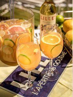 Der raffinierte Drink mit französischem Flair: Lillet Passion. Hier geht's zum Rezept: #alcoholicpartydrinks