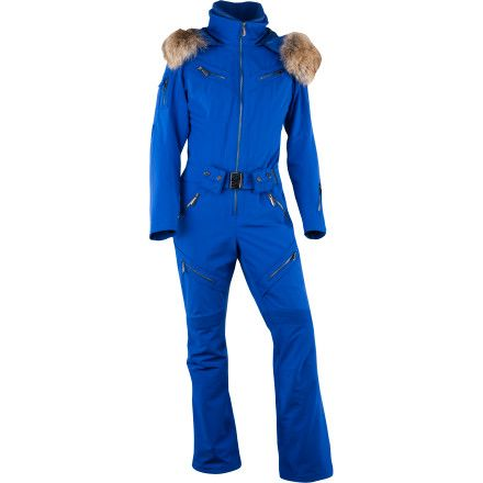 Spyder Eternity Snow ski Suit - Women s one piece insulated hooded warm  outfit 645df4224fb