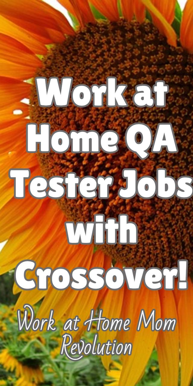 Home-Based QA Tester Jobs with Crossover | Crossover on work from home job sites, work from home recruiter, work from home resume,
