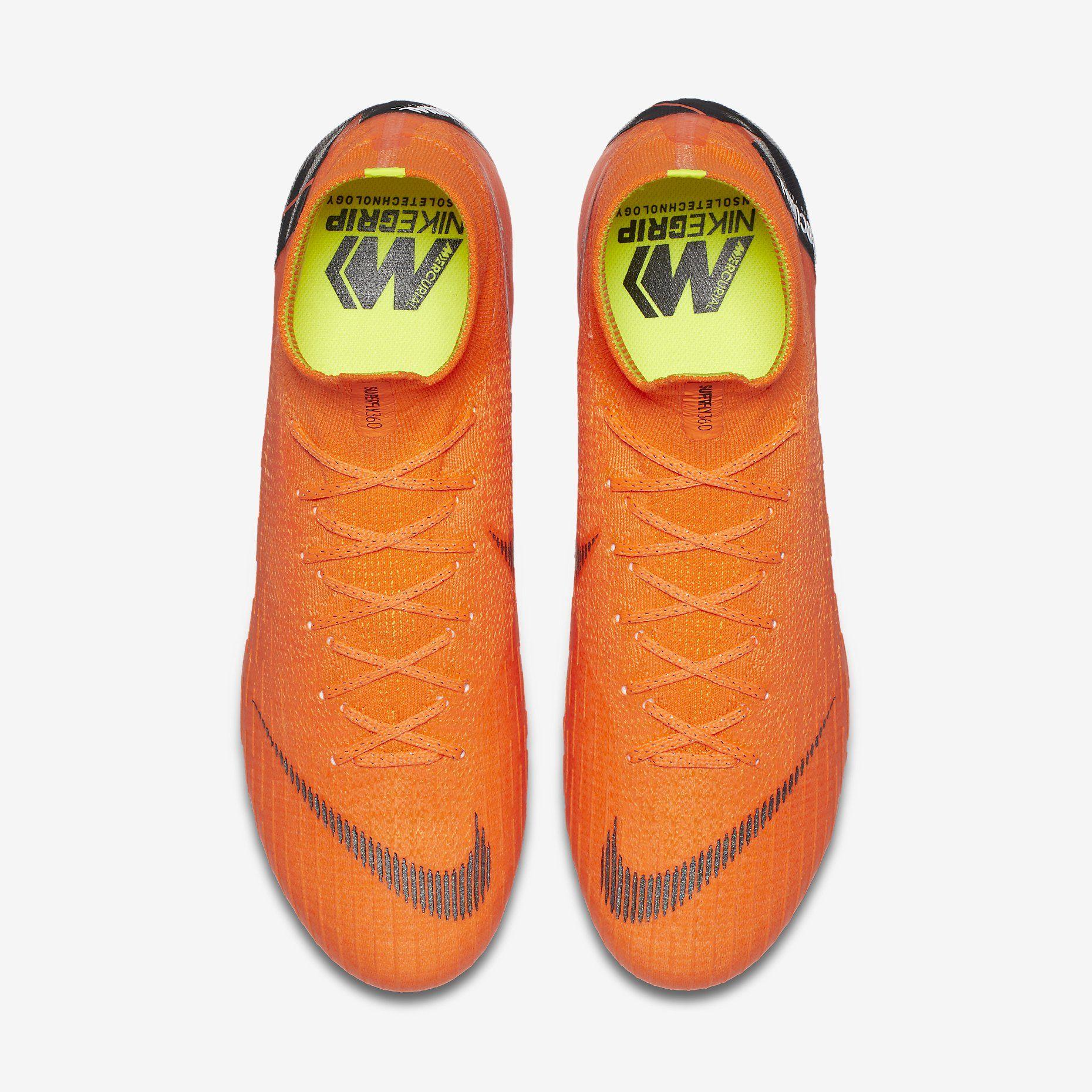 541d27673 Nike Mercurial Superfly 360 Elite FG - Total Orange / Total Orange / Volt /  White | Football boots | Football shirt blog