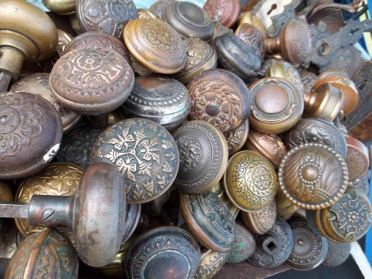 Antique Copper Door Knobs to repurpose a vintage door knob online ...