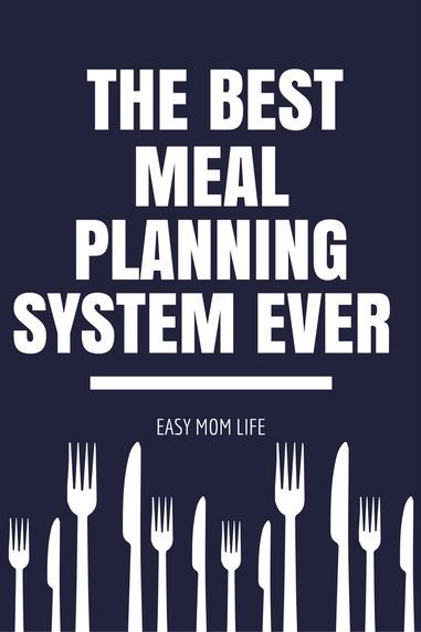 The EASIEST Meal Planning System EVER - How to Set up a Meal Plan