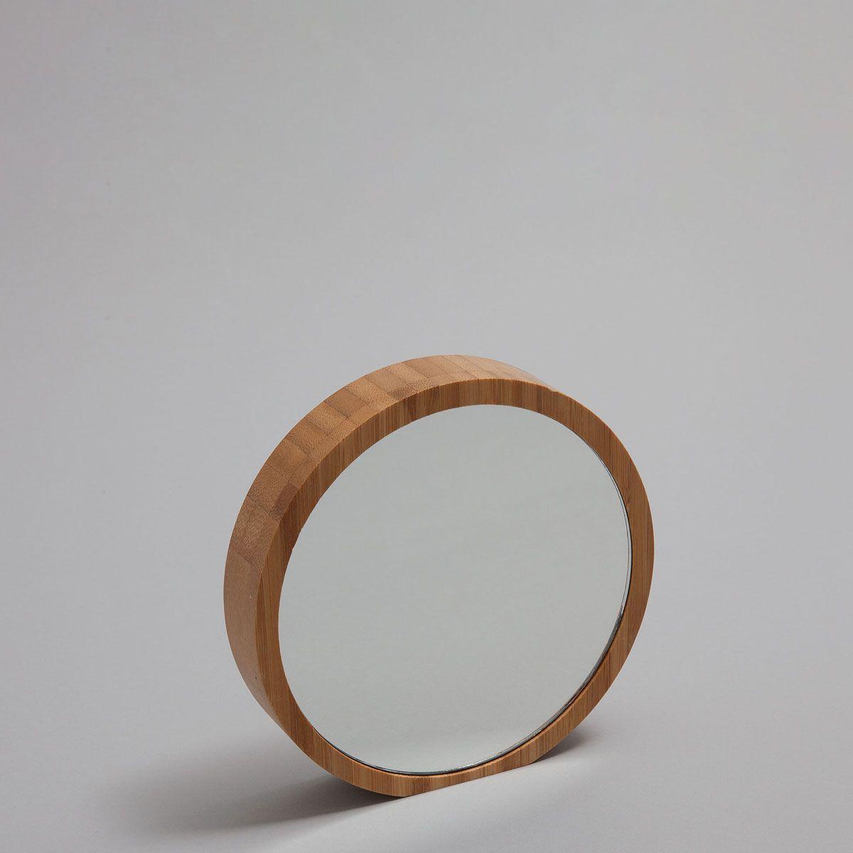 Bild 1 des Produktes Runder Spiegel mit Bambusrahmen   BATH ...