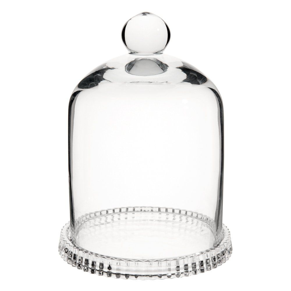 Minicampana sobre vidrio