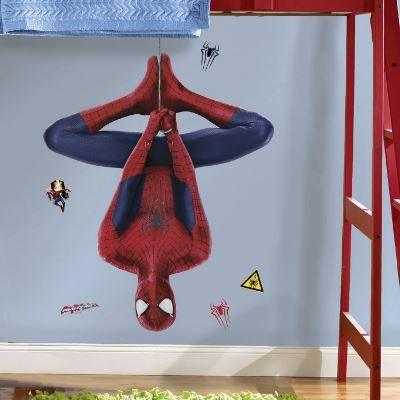 spiderman themed bedroom ideas | Spiderman, Wall sticker and Bedrooms
