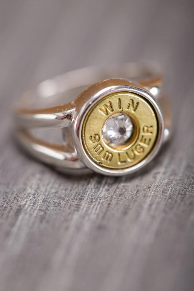 Last Shot Lucky Revolver Eagle Ring For Men In 925 Sterling Silver