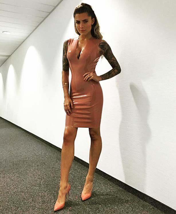Sophia Thomalla Leder