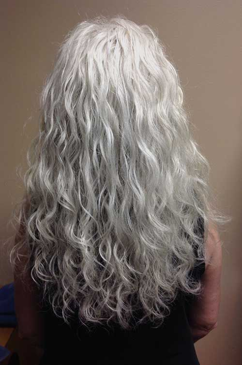 30 Hairstyles For Women Over 50 Long Hairstyles 2015 Long Gray Hair Long Hair Styles Grey Curly Hair