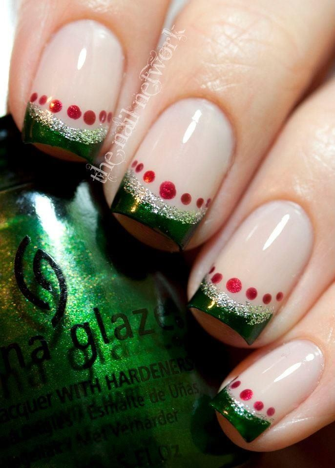 Christmas nails | My Style | Pinterest