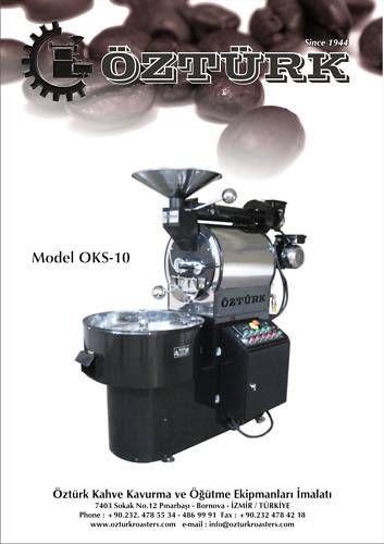 10 Kilo 22lb OZTURK Commercial Coffee Roaster Custom Built Machine