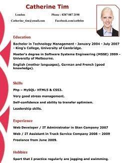 Free Resume Format 110 Free Resume Format Resume Format Free Resume