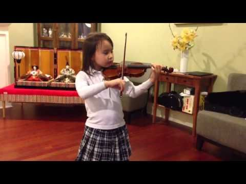 Gavotte in G Minor [Suzuki Violin School Volume 3 by Bach]—See more of this young violinist #from_telex22