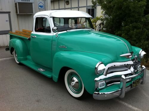 1954 Chevy Truck Maintenance Restoration Of Old Vintage