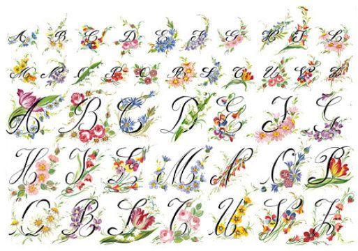 alfabetos bonitos - Buscar con Google