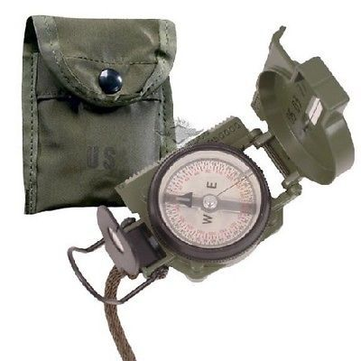 Other Hiking Gear 27363: 5Ive Star Gear 5160000 Gi Lensatic Compass W Od Green Pouch -> BUY IT NOW ONLY: $65.66 on eBay!