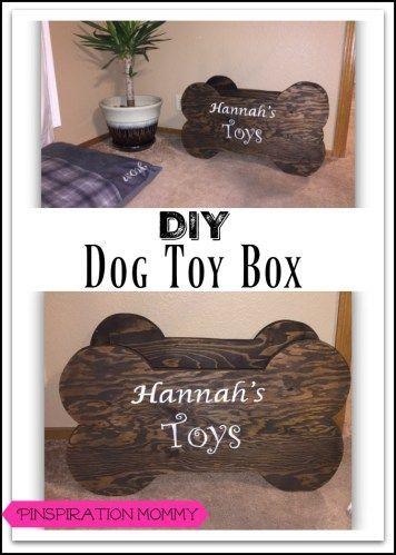 Diy Dog Toy Box How To Build A Wood Bone Shaped Dog Toy Box Dog