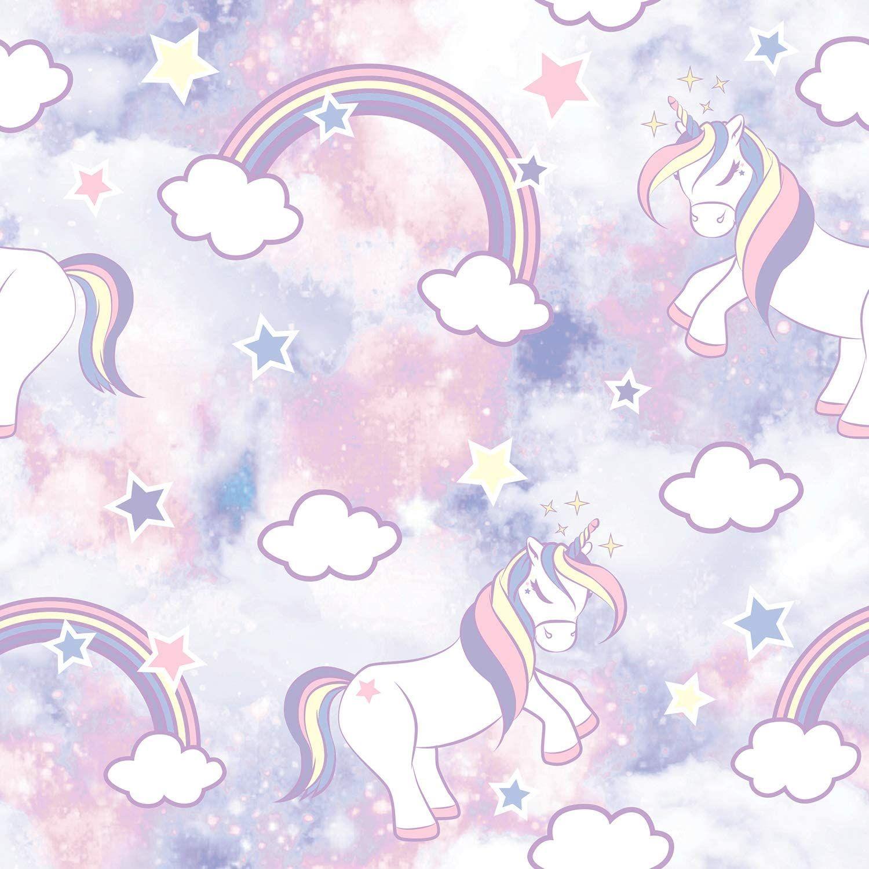 Unicorn Wallpaper Peel And Stick Wallpaper Nice In 2020 Unicorn Wallpaper Wallpaper Pictures Android Wallpaper