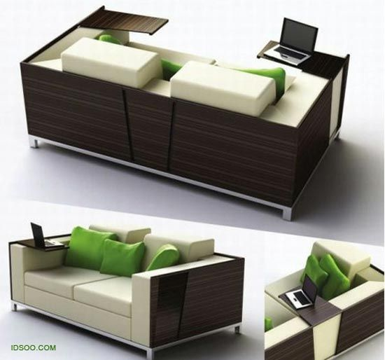 Fine Cool Couch With A Pull Out Small Table Attached To It No Cjindustries Chair Design For Home Cjindustriesco