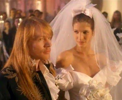 25 Most Unforgettable Weddings Stone Fox Bride Stephanie Seymour November Rain