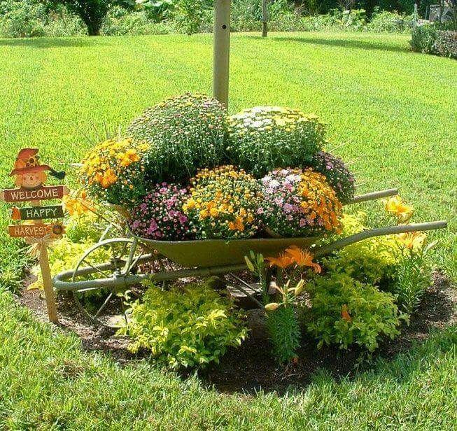 Jard n jardines bonitos pinterest jardines bonitos for Jardines caseros bonitos