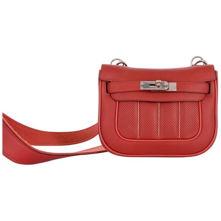 cee8e731139 Hermes-Berline-Handbag-Perforated-Swift-28 Brique Must see ...