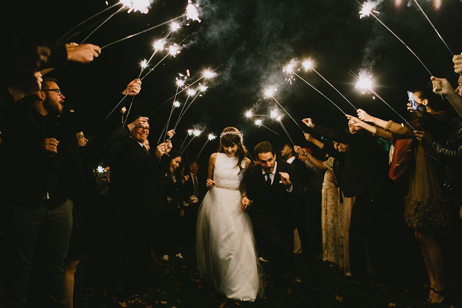 This Woodsy Wedding Is Low-Key Elegance Mastered #refinery29  http://www.refinery29.com/christine-mcmillen-woods-wedding#slide20