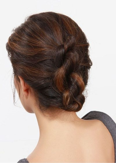 12 Easy Office Updos Buns Chignons More For Busy For
