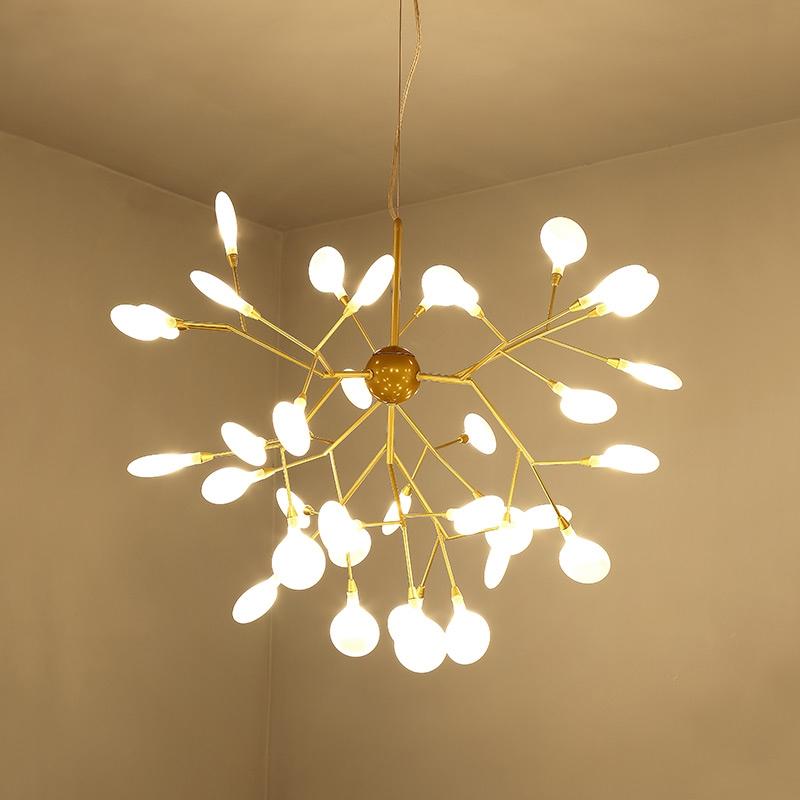 69.00$  Watch here  - Modern artistic home decoration  Pendant Chandelier Light Lustre De techo Led Chandelier For Dining Room lighting fixture