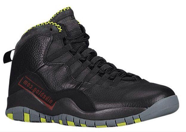 Air Jordan X (10) Venom Green  f9cf633a5