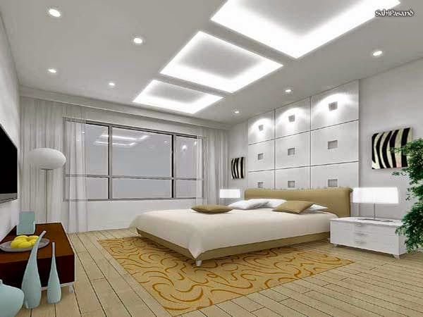 Best Ceiling Designs With Lighting For Modern Bedroom, #False