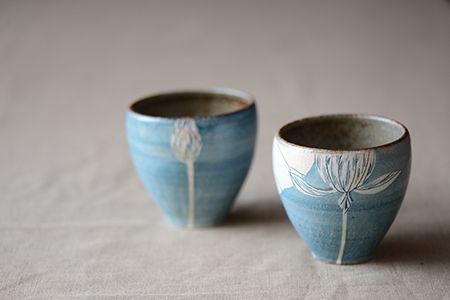 大谷桃子の作品 | 陶芸作品, 陶器, 手作り陶器