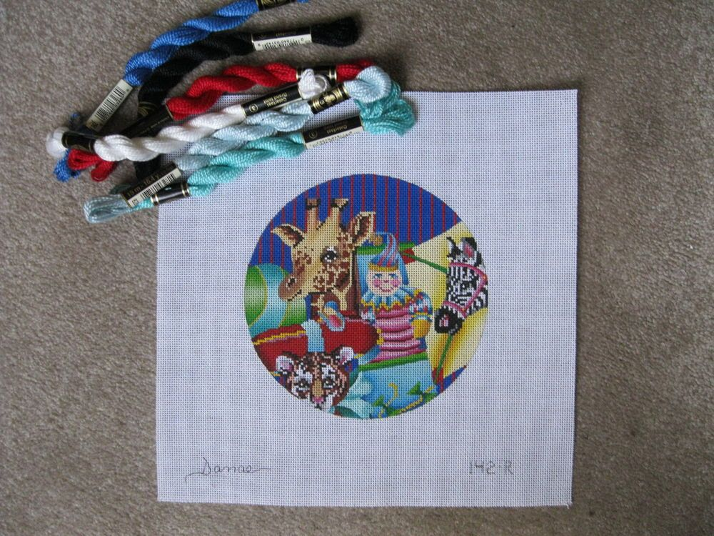 Creative  Holiday Needlepoint Canvas  #Handpainted
