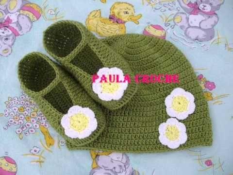 Passo a passo Touca Melissa em crochê - Professora Simone - YouTube Baby  Knitting f54456a370c