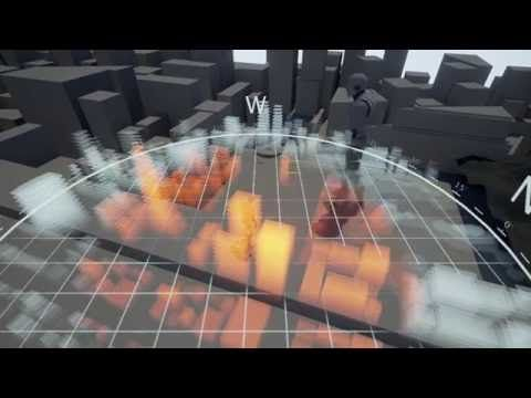 UE4 Dynamic Holographic Map - YouTube | Moon | Holographic