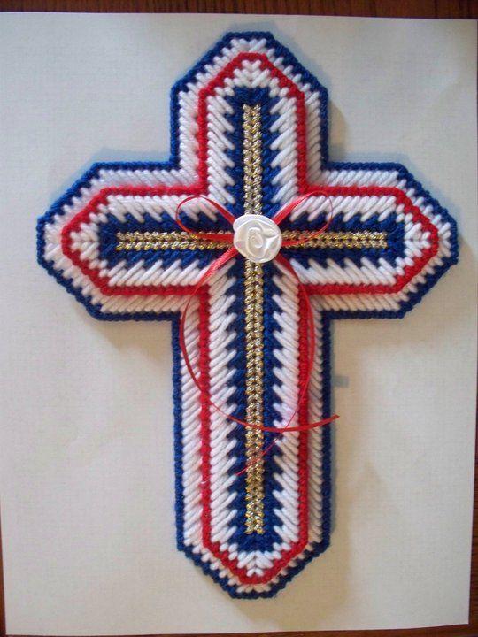 Patriotic Cross