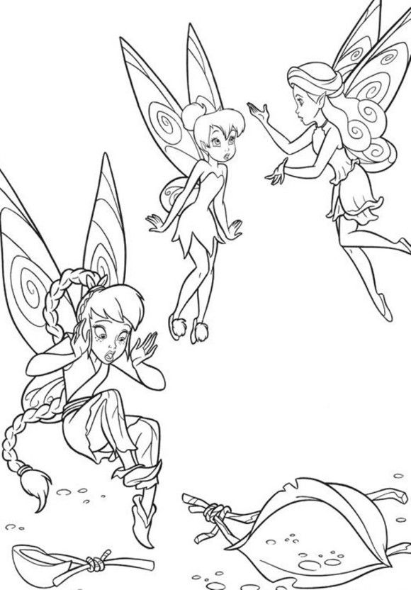 Tinkerbell Coloring Pages Printable | 00 | Pinterest | Tinkerbell
