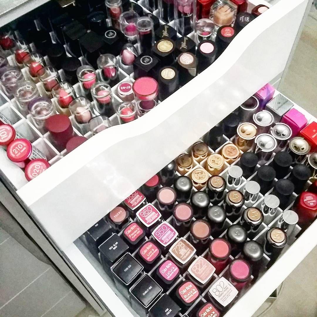 DiY] Lippenstiftaufbewahrung | Aufbewahrungsbox, Schminke und ...